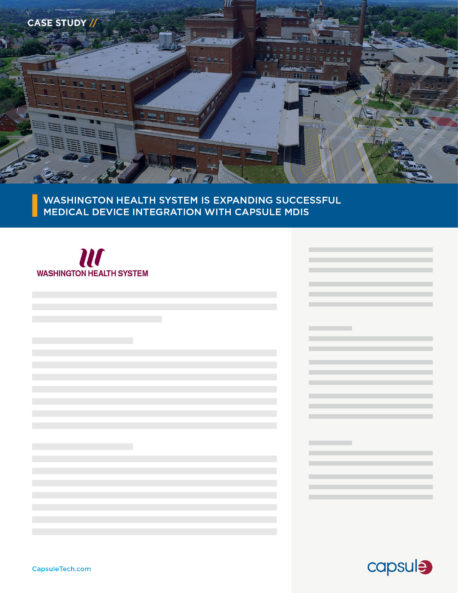 case study Washington health system