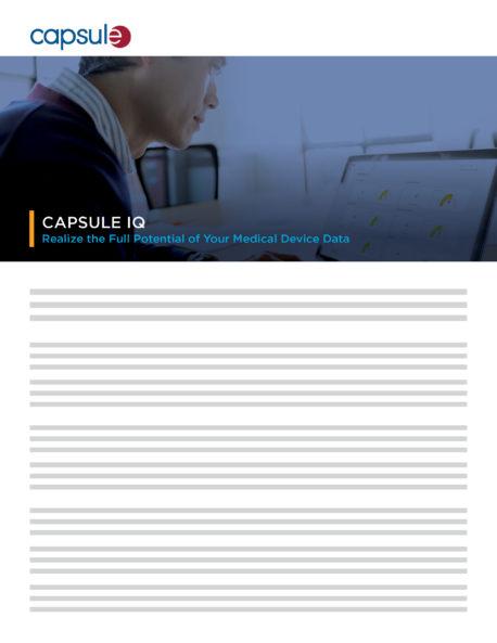 product brief capsule iq