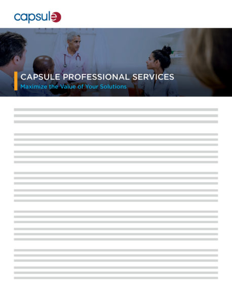 product brief professional services