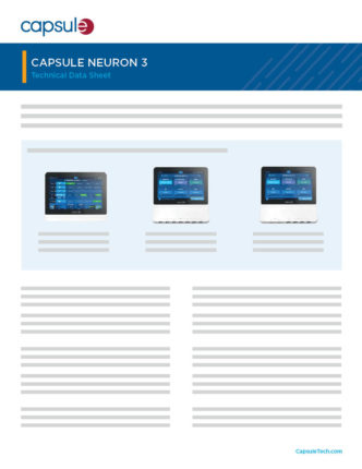 capsule neuron 3 specifications