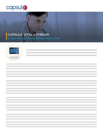 product brief vitals stream