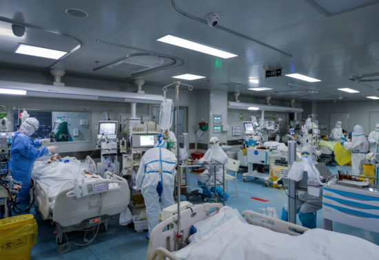 covid-19 hospital departments transformed