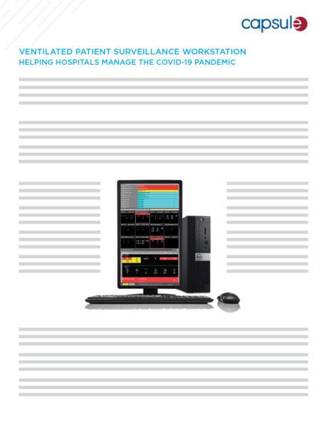 ventilated patient surveillance workstation